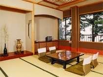 ファミリーやグループにオススメ★和室12畳のお部屋(一例)