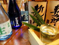 【長野県のこだわりの地酒付】 うまいお酒とお料理&温泉満喫プラン♪