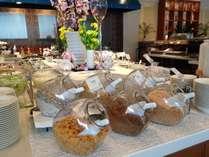 朝食ブッフェ「ヘルシーオプションズ」ではシリアルも豊富にご用意しました