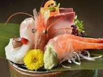 日本海の幸のお造り