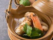【松茸の土瓶蒸し】秋を代表する食材の代名詞『松茸』の香りを楽しむ★<秋の佐渡ごっつぉ~SADO~>