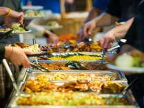 【朝食付き】和食店のこだわり朝食!和食メインの60種バイキングで朝から健康的に!!