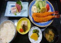 海鮮フライ定食プラン