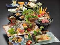 【夏季 2019年6月~8月】料理長おまかせ特選会席コース《夕食グレードアップ》
