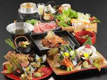 【秋季 2021年9月~11月】料理長おまかせ特選会席コース(夕食グレードアップ)