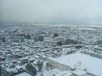 客室からの眺めはまるで絵画のような雪景色♪(冬)