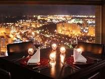 31階イタリアンレストラン「ラ・ステラ」からの夜景