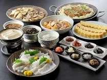 和食の朝食も種類豊富
