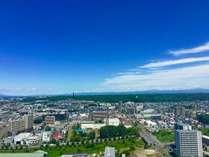 野幌森林公園&百年記念塔を眺める