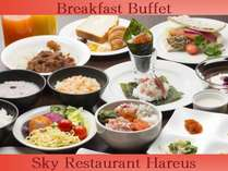 31F Sky Restaurant Hareus Breakfast Buffet