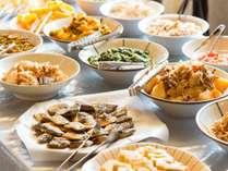 【当館人気】手作り惣菜が大好評♪ 和洋30種類の朝食バイキング付きプラン