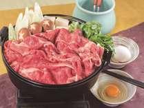 すき焼き鍋夕食御膳プラン(2食付)