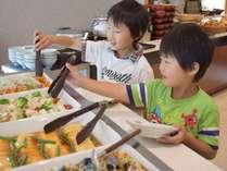 ☆朝食バイキング☆お子様向けメニューもご用意しております。