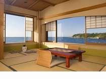 日本海が一望(日によってかわります)
