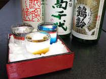 ≪2-3月限定≫「冬」に美味しい日本酒●冬限定【 しぼりたて 】3種類を飲み比べ♪○季節の特典プラン