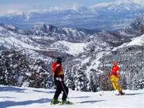 スキー&スノーボードを満喫♪
