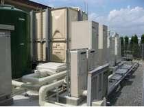 【環境】コージェネレーション システム   ガスで発電 廃熱利用でお湯を作りますエコシステム