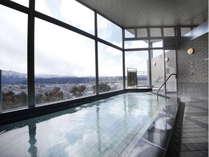 【大浴場】天然温泉『四季彩乃湯』秩父の景色を見ながらノンビリ入浴♪