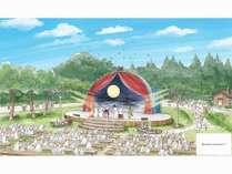 【パートナーホテル】ムーミンバレーパーク入園引換券&スペシャルグッズ付き宿泊プラン!【バイキング】