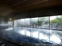 華水館1F「渚の湯・華の湯」は自家源泉かけ流し