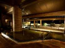 【湯賓館2F】男性大浴場「松風の湯」