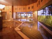 【湯賓館2F】女性大浴場「大山の湯屋」