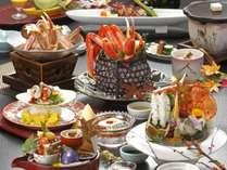 ★カニ×旬の味覚★ずわい蟹と季節のお料理を堪能 『お愉しみ会席』プラン♪