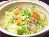 【1Fラ・ベランダ】朝食限定 石川県郷土料理「とり野菜鍋」 石川県民で知らない人はいない定番メニュー♪
