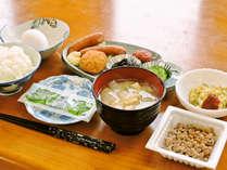【朝食付】夕食は済ませてチェックイン!翌朝は手作りのやさしい和定食◎