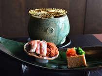 【12月限定】お勧め日本酒利き酒付〇香箱蟹とのどぐろ、上州産赤城牛フォアグラ焼き~師走の食旅
