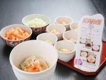 郷土料理 冷麺/朝食バイキング例