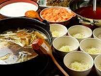 朝食バイキング例/郷土料理 ひっつみ