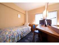 本館シングル●お部屋の広さ 9.2平米(5.6畳)●ベッドサイズ 190cm×100cm