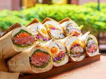 【朝カフェ/福田パンサンド】盛岡のソウルフード「福田パン」を使用した多種のサンドイッチ♪