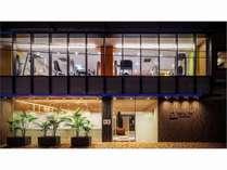 ホテル概観フロント2F 24H フィットネスジム併設