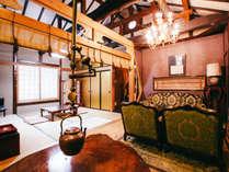*【不老長寿の間】ミニキッチンも付いておりますので、ファミリーや長期滞在にも最適のお部屋です。