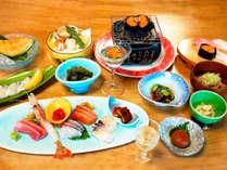*夏期の浜料理イメージ画像/夏が旬!小樽のウニをふんだんに使った料理をご用意致します♪