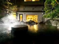■【八峰の湯】柔らかく肌に優しいアルカリ性天然温泉の掛流しです。