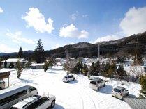 *8つのスキー場にアクセスしやすい当館。