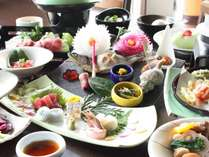 【料理長おすすめ】会席風日本料理とことんご堪能プラン♪