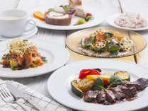彩りの洋食フルコースがポムアンナのイチオシです♪