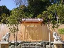 御遷宮により真新しくなった美多羅志神社