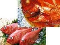 秘伝のタレで煮込んだ金目鯛の煮付け♪