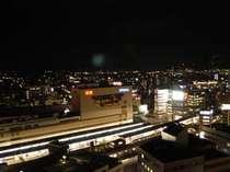 ホテル東側シティビューの夜景