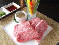 【松阪牛の陶板焼き&伊勢海老のお造り付きプラン】とろける旨さ松阪牛