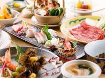 【季折懐石】お料理一例(板長渾身の創作お料理は、日、週、又は月により異なります)