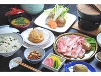【開業記念2食付プラン】☆夕食は岩手県産豚しゃぶしゃぶコース☆