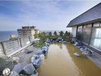 露天風呂景観イメージ(天候や気温により湯色の変化ございます)
