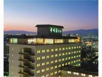 外観 函館市内を一望。