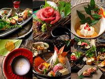 【ふるさと割対象◇MIYAKOの懐石-竹-】 厳選食材で描かれた、見目麗しい『飛騨の四季』をしっかり堪能。